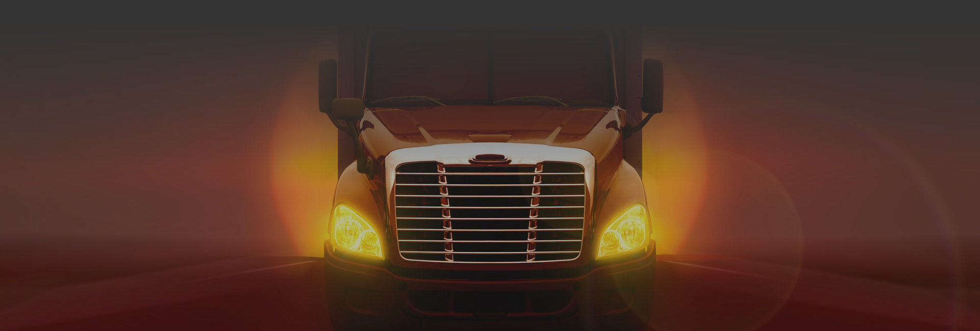 front view of a truck